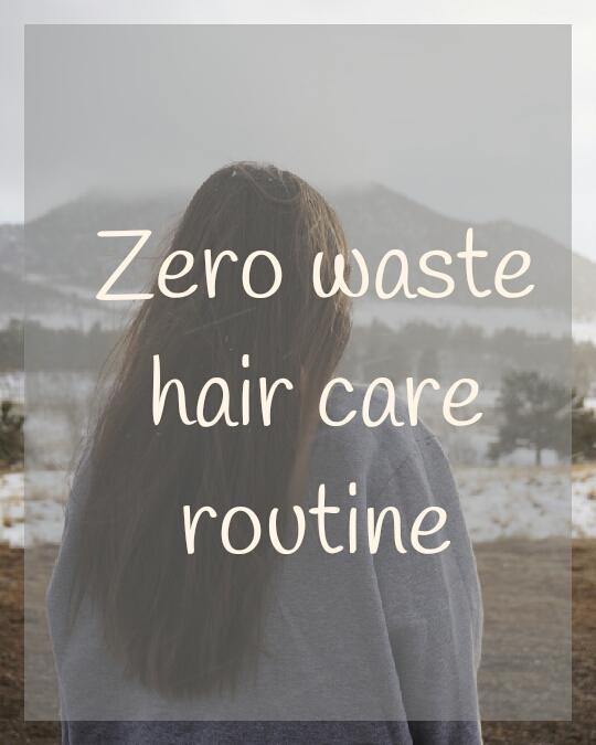 Zero waste haircare