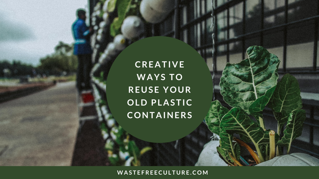 What do you do with old plastic Zero waste living