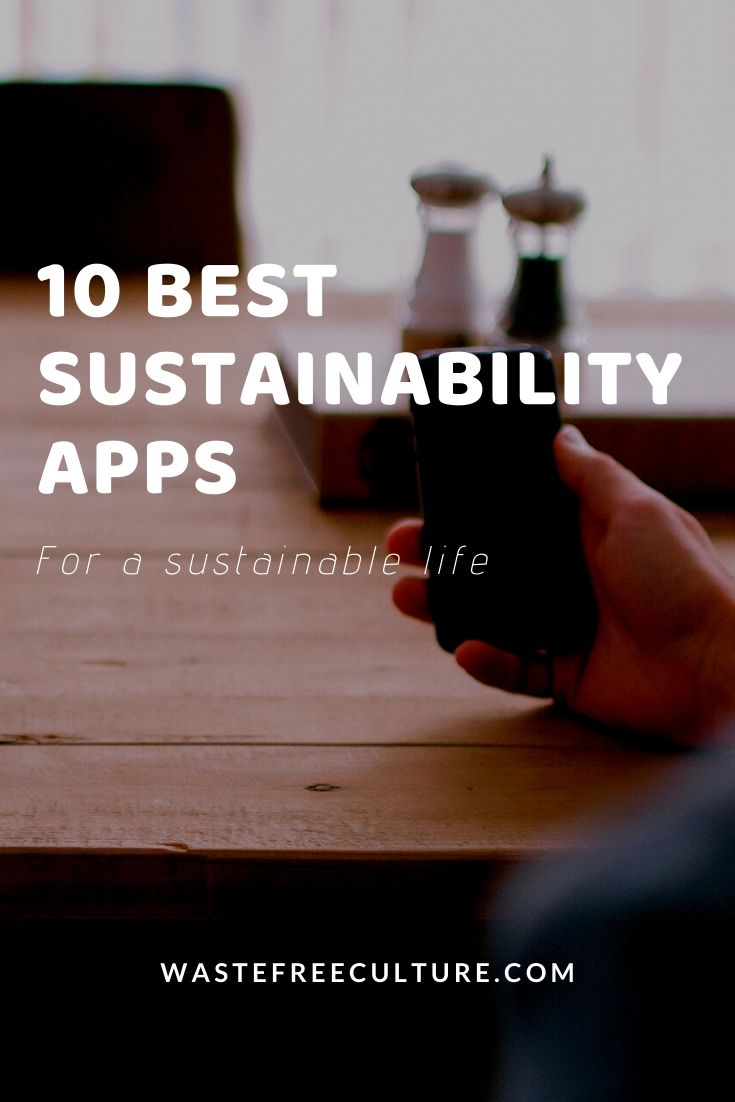 sustainability apps for a sustainable life