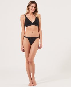 ethical Lace Thong