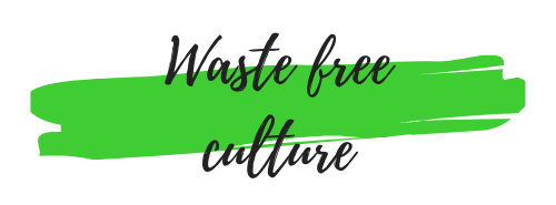 Waste free culture