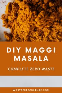 DIY Maggi Masala/Tastemaker