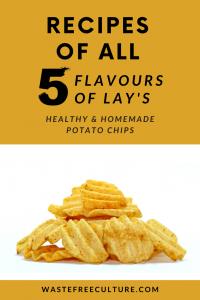 Lay's chips recipe - Homemade & Natural