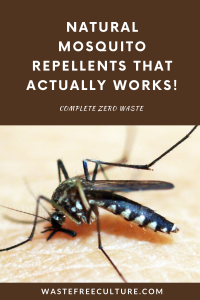 Natural mosquito repellents that actually works!