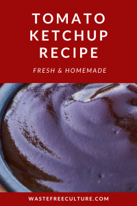 Tomato Ketchup Recipe - Fresh & Homemade
