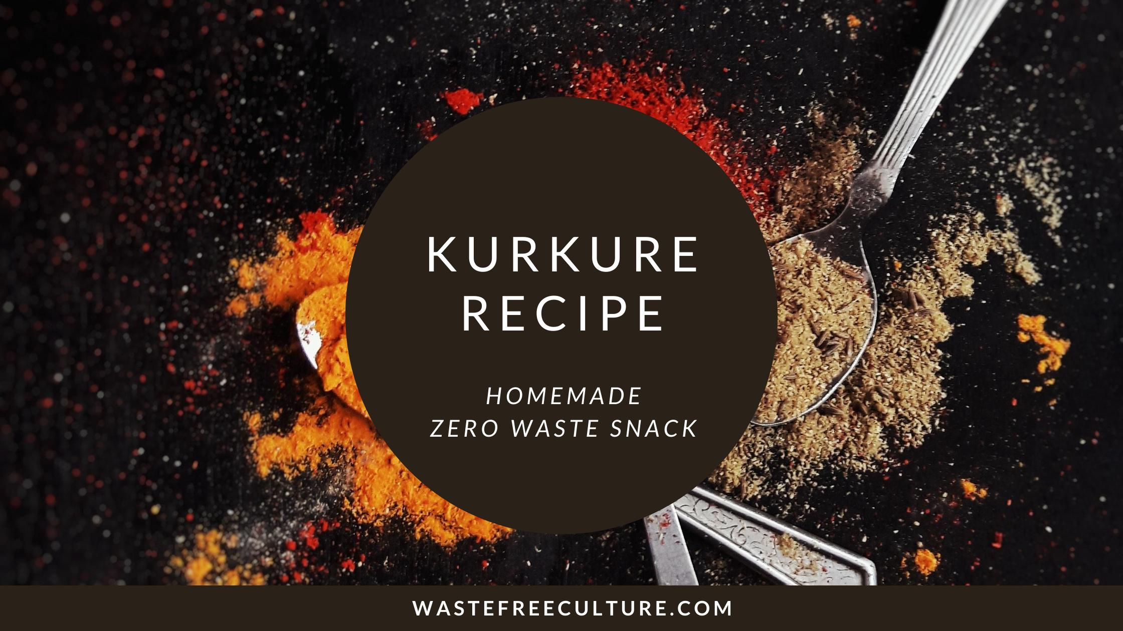 Kurkure Recipe - Homemade Zero Waste Snack